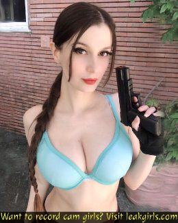 Lewd Lara Croft By Meryl Sama