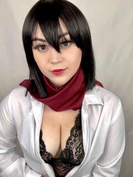 Lewd Mikasa Ackerman By Buttercupcosplays