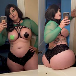 Lewd Shego Cosplay By Baroness Von T Cosplay