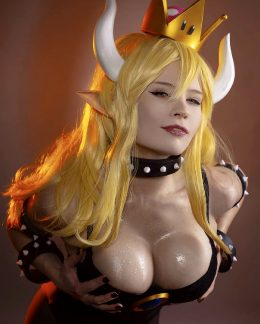 Leya Shion As Bowsette