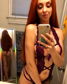 Lingerie Starfire Front AND Back By Lunaraecosplay