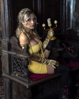Liz Katz As Belle