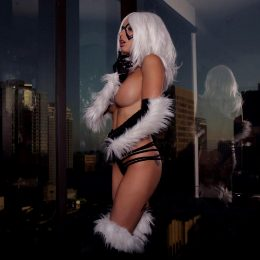 Liz Katz As Black Cat