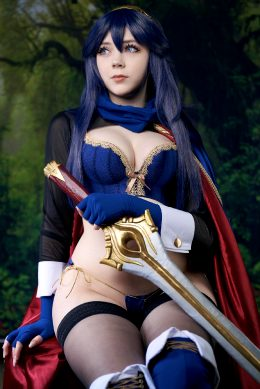 Lucina Cosplay By Me. Design Based Off Sakimichan Art