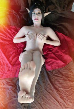 Lunathecat_virtualwaifu As Elf Girl