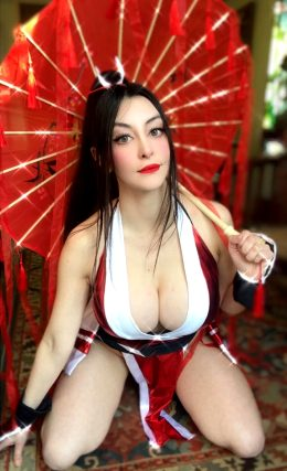 Mai Shiranui By Fabibi World Cosplay