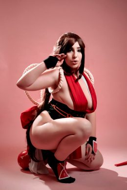 Mai Shiranui From KOF By Natalie Harime