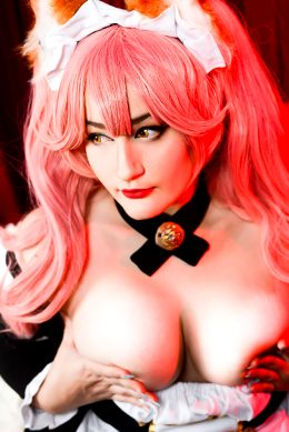 Maid Tamamo No Mae – Fate By Natsumi Louise Cosplay