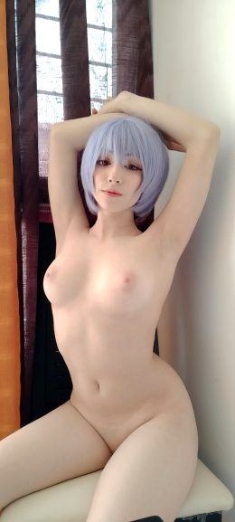 Man Is Afraid Of The Dark, Only In The Light Is He In Control. Rei Ayanami By Mochidolll
