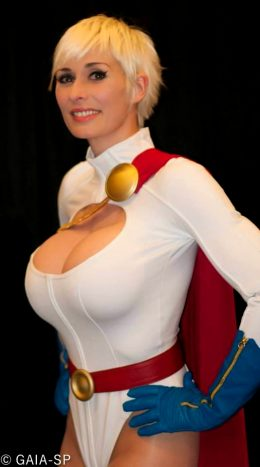 Marie-Claude Bourbonnais As Power Girl