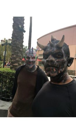 Me And My Friend As Demon Boiz