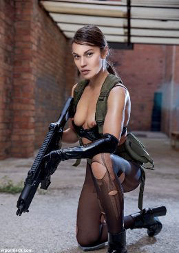 Metal Gear Solid Cosplay By Alyssa Reece