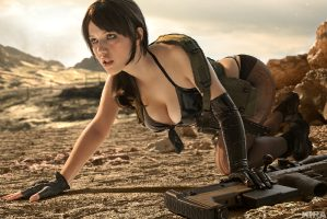 Metal Gear Solid – Quiet By Lada Lyumos