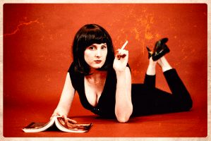 Mia Wallace Cosplay By Little Miss Fable