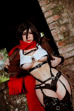 Mikasa From Attack On Titan By Giu Hellsing