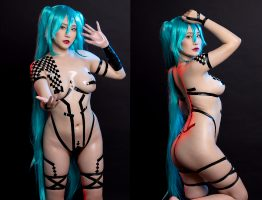 Miku Black Tape By SunnyVier