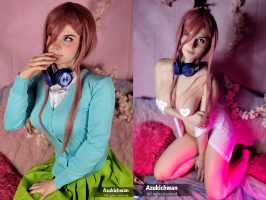 Miku Nakano From The Quintessential Quintuplets By Azukichwan