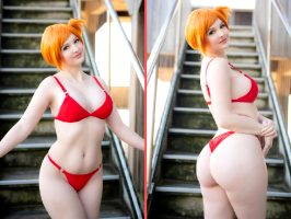 Misty From Pokemon In Bikini