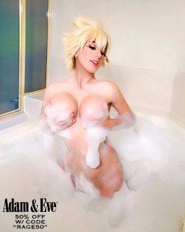 Mitsuki Bakugou At The Bath By Elizabeth Rage
