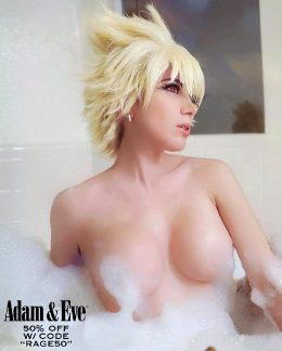 Mitsuki Bakugou At The Bath By Elizabeth Rage