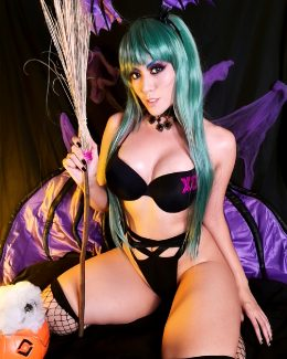 Morrigan Aensland Halloween Version By Angel Kaoru