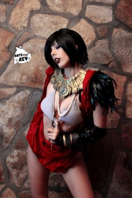 Morrigan Erocosplay From Dragon Age By Kate Key