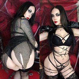 Morticia Addams Boudoir Cosplay By Felicia Vox