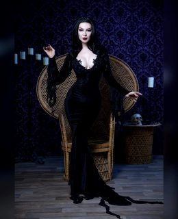 Morticia Addams By Ashlynne Dae