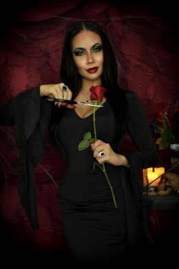Morticia Addams Cosplay By Felicia Vox