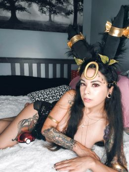 My Friends Umbreon Cosplay, Should She Make A Reddit Account?