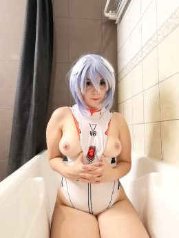 Natural Boobs Of Rei Ayanami By Lana Luv