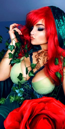 """Nature Always Wins."" Poison Ivy From DC/Batman"