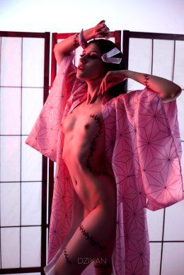 Nezuko Demonic Form Cosplay Photoshoot By Dzikan