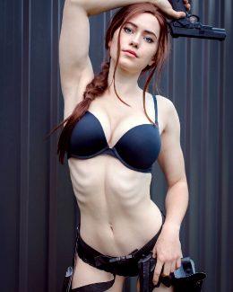 Nichameleon As Lara Croft.