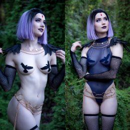 Nichameleon As Raven.