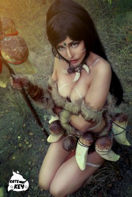 Nidalee From League Of Legends By Kate Key