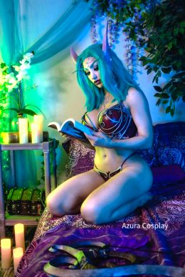Night Elf From World Of Warcraft – By AzuraCosplay