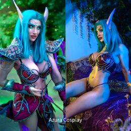 Night Elf Sentinel From World Of Warcraft – By AzuraCosplay