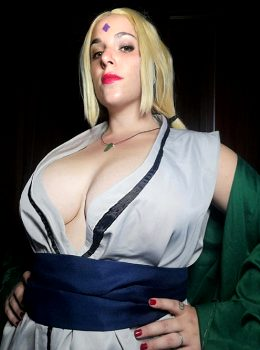 NSFW Tsunade From Naruto By TsunaCosplay