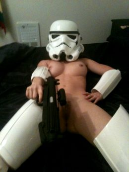 Nude Stormtrooper By Unknown Female