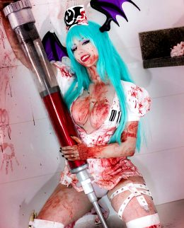 Nurse Morrigan By Giu Hellsing