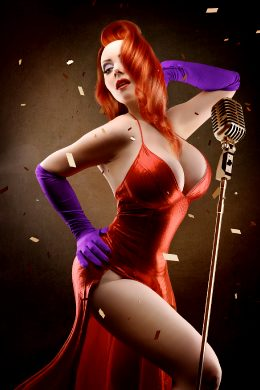 October Divine Jessica Rabbit