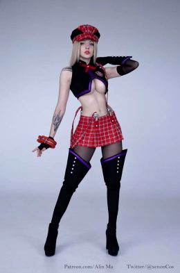 Omg Who Is She? God Eater Cosplay