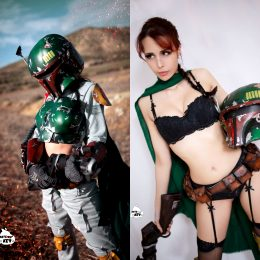 ON// OFF Female Boba Fett Cosplay By Kate Key