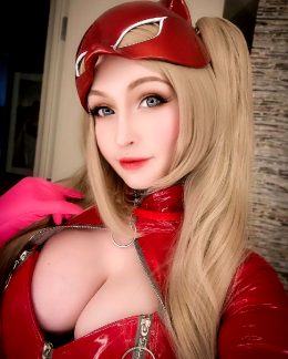 Panther From Persona 5 By Pengu-Chan Cosplay