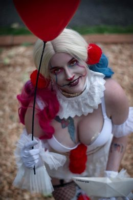 Pennywise Harley Quinn Mashup By Captive Cosplay