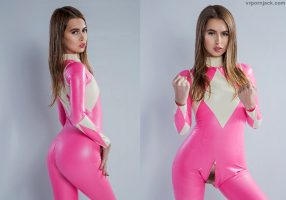 Pink, Power Rangers Cosplay By Jill Kassidy