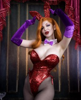 Pinup Jessica Rabbit From Who Framed Roger Rabbit By Ashlynne Dae