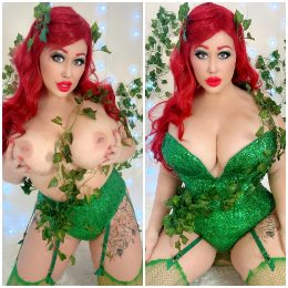 Poison Ivy Cosplay By Myself