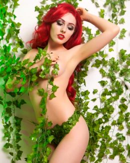 Poison Ivy From DC Comics By Rolyat